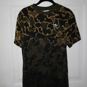 Adidas camo T shirt Trefoil M NEW